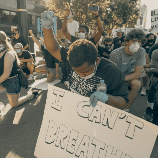 BLM image credit Photo by Clay Banks on Unsplash